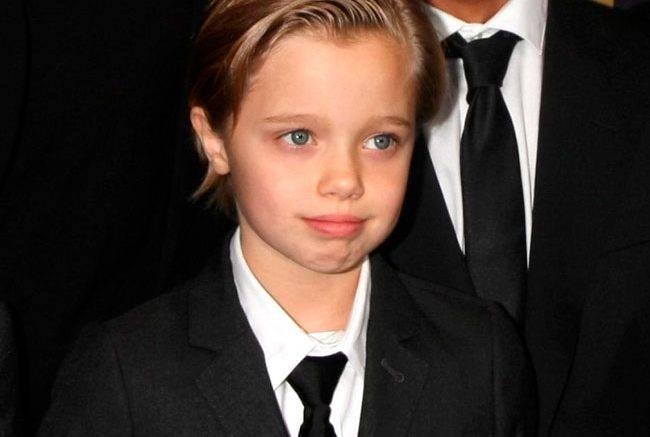 Shiloh, transgender child of Angelina Jolie and Brad Pitt